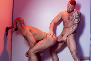 Louis Ricaurte & Antonio Miracle - Glory Hole Boy Part 2