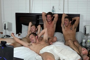 Brandon Haze, Colby Chambers, Mason Steele, Mickey Knox – 1st 4-Way