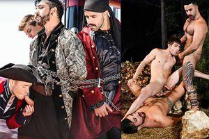 Gabriel, Jimmy, Johnny, Teddy – Pirates: A Gay XXX Parody Part 3