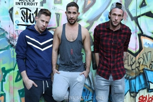 Philippe, Flo, Guillaume – Loaded after the gym