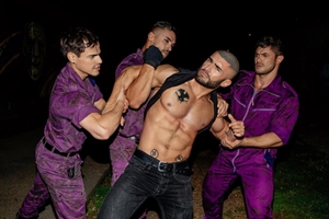 Bruce LaBruce's Purple Army Faction