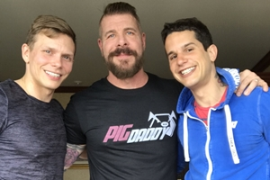 Ethan Chase, Pierre Fitch, Rocco Steele - Part 1 e 2