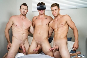 JJ Knight, Justin Matthews, Pierce Paris - Virtual Fuck Part 2