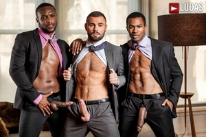Jeffrey Lloyd, Sean Xavier, Andre Donovan | Black Business Cock