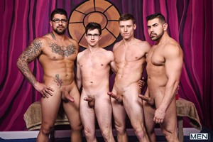Damien Stone, Justin Matthews, Ryan Bones, Will Braun – Men Bang Part 4