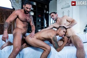 Max Arion And Edji Da Silva Punish Max Avila's Ass