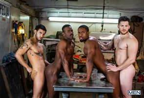 River Wilson, Ricky Roman, Matthew Camp, DeAngelo Jackson – Tom Of Finland: Service Station