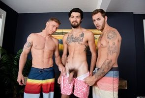 Carter Woods, Justin Matthews, Leeroy Jones - The Awkward Boner