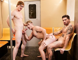 Michael Boston, Kyle Connors & Chris Damned – Subway Stories Part 3